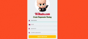 Registration-Form-In-Html5-Css3