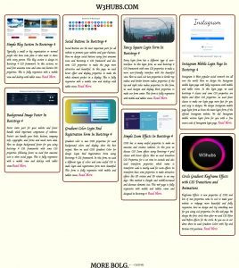 Blog Section Using CSS Grid