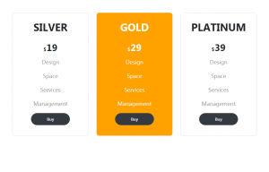 Pricing Table In Bootstrap 4