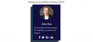 Bootstrap-Card-With-Box-Shadow-Effects