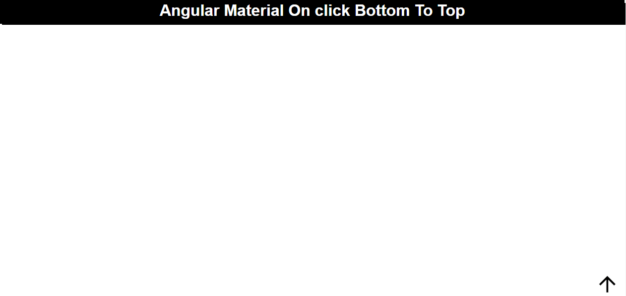 Angular Material Smooth Scroll Bottom To Top