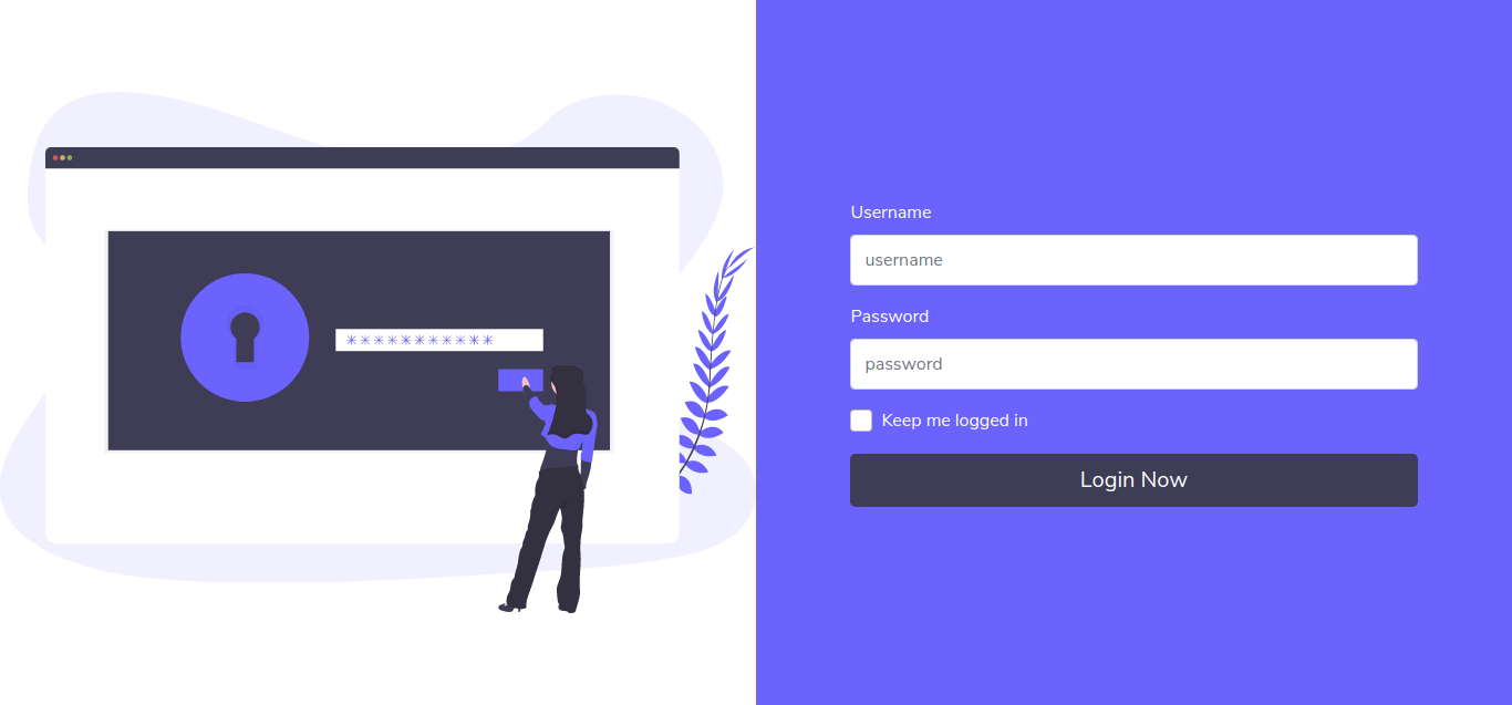 Bootstrap 5 Login Form